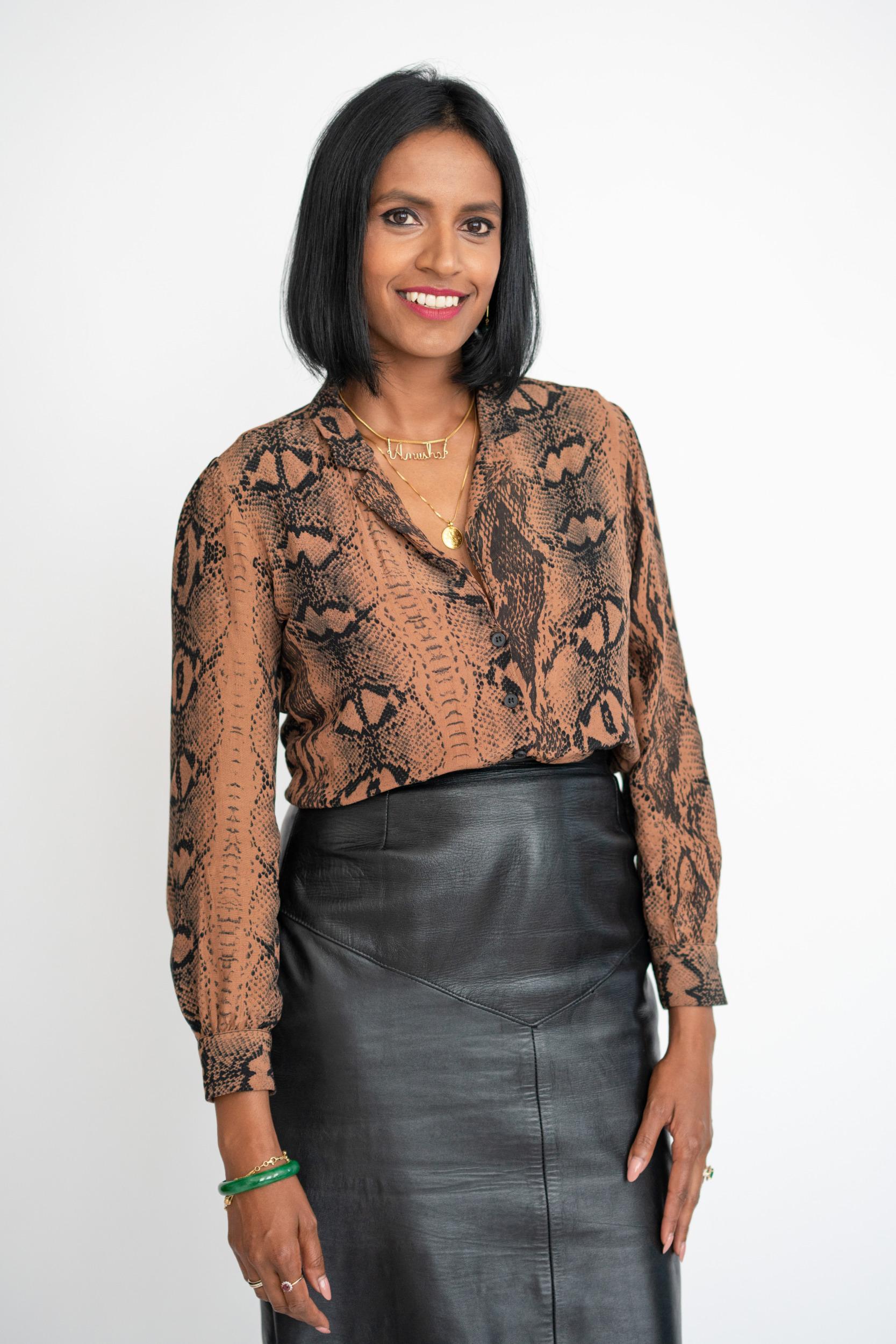 Anusha Wijeyakumar MA, CPC, Dip Mentoring, RYT